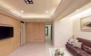 静安新城129平美式乡村三室装修
