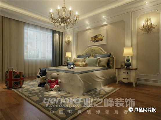 欧式 四居 卧室图片来自太原业之峰小李在半山国际的分享