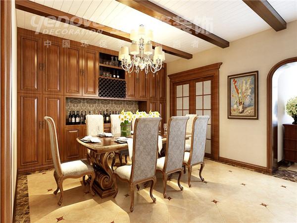 混搭 别墅 餐厅图片来自太原业之峰小李在格林小镇的分享