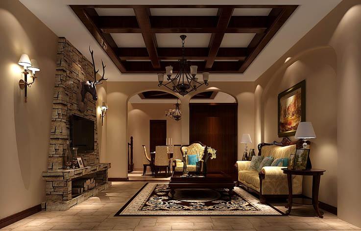 客厅图片来自张邯在高度国际-红杉溪谷的分享