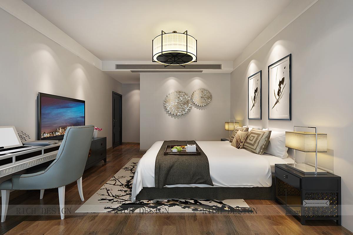 卧室图片来自浩天装饰-小陈在中州二期的分享