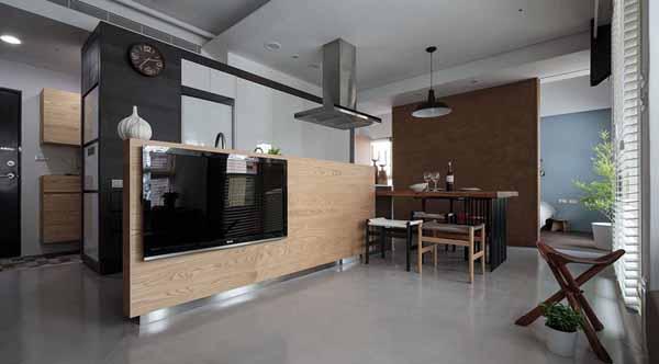 简约 旧房改造 80后 客厅图片来自上海潮心装潢设计有限公司在静安新城59平简约风格一居室装修的分享