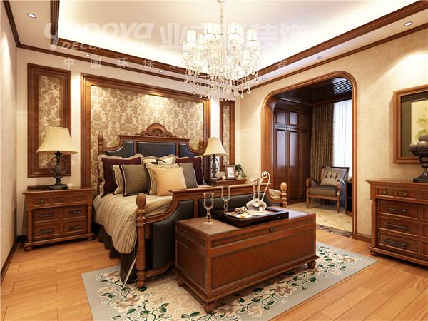 混搭 别墅 卧室图片来自太原业之峰小李在格林小镇的分享