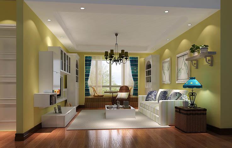 二居 白领 田园 装修 设计 客厅图片来自张邯在高度国际-旭辉御府的分享