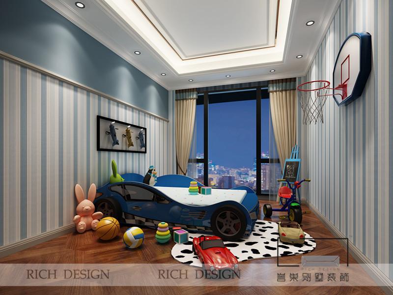 儿童房图片来自浩天装饰-小陈在中州二期的分享