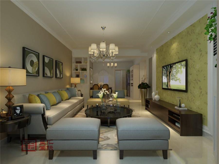 简欧 三居 玺汇国际 收纳 客厅图片来自河北玺汇国际装饰公司在星洲美誉135平简欧风格的分享