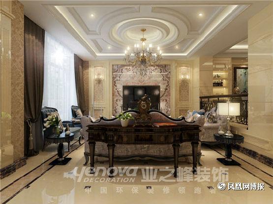 欧式 四居 客厅图片来自太原业之峰小李在半山国际的分享