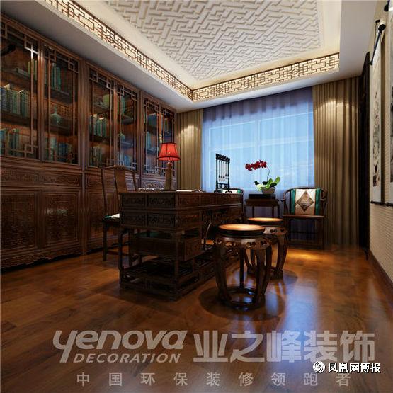 欧式 四居 书房图片来自太原业之峰小李在半山国际的分享