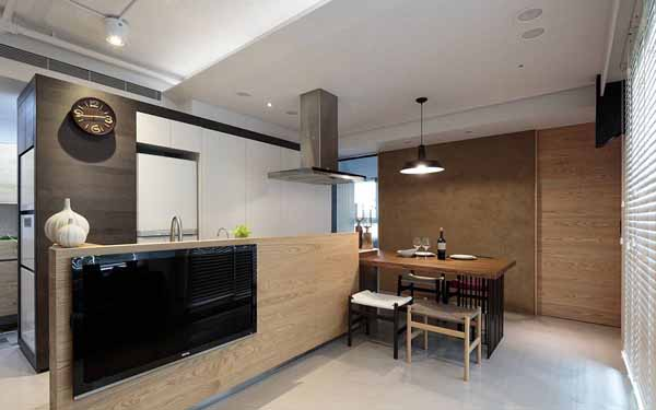 简约 旧房改造 80后 厨房图片来自上海潮心装潢设计有限公司在静安新城59平简约风格一居室装修的分享