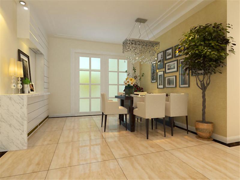 餐厅图片来自湖南名匠装饰在澳海澜庭2室2厅1卫85.10平的分享