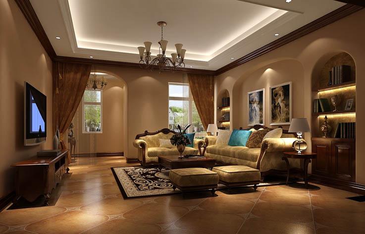 别墅 80后 装修 设计 客厅图片来自张邯在高度国际-红杉溪谷2的分享