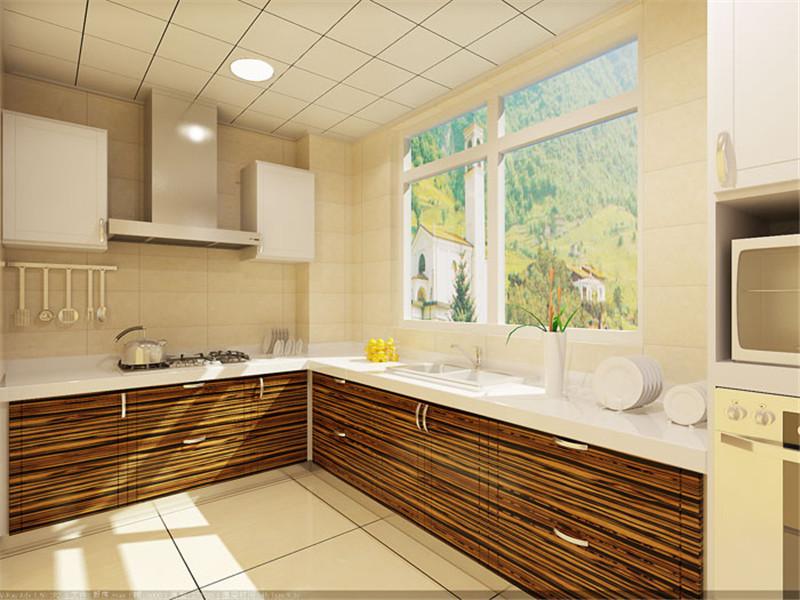 厨房图片来自湖南名匠装饰在澳海澜庭2室2厅1卫85.10平的分享
