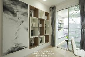 简约 三居 白领 收纳 旧房改造 80后 舒适 温馨 书房图片来自fy1831303388在国韵村的分享