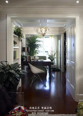 简约 一居 白领 收纳 旧房改造 80后 小资 舒适 温馨 书房图片来自fy1831303388在中海紫御的分享