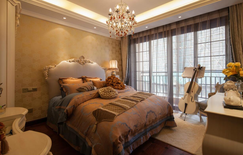 简约 欧式 田园 混搭 三居 别墅 收纳 旧房改造 二居 卧室图片来自紫禁尚品国际装饰高晓媛在稳重大气的欧式风格案例的分享