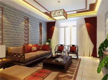 燕西华府中式风格古香古色