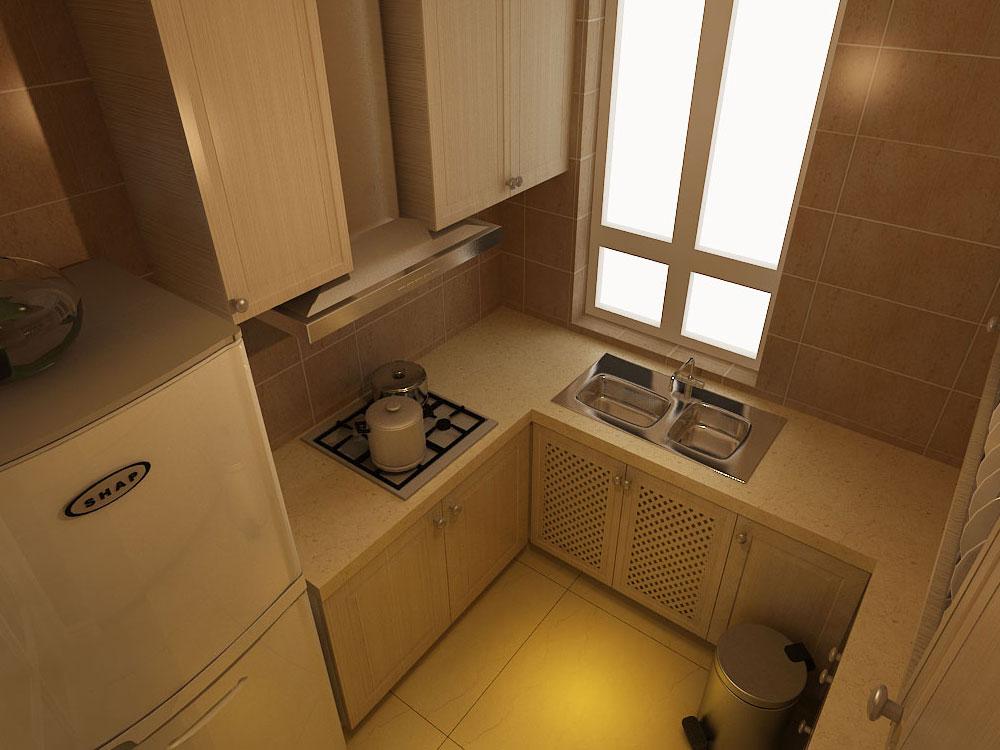 美式风格 林凤装饰 白领 80后 小资 厨房图片来自沈阳林凤装饰装修公司在金地艺境-美式-三居的分享