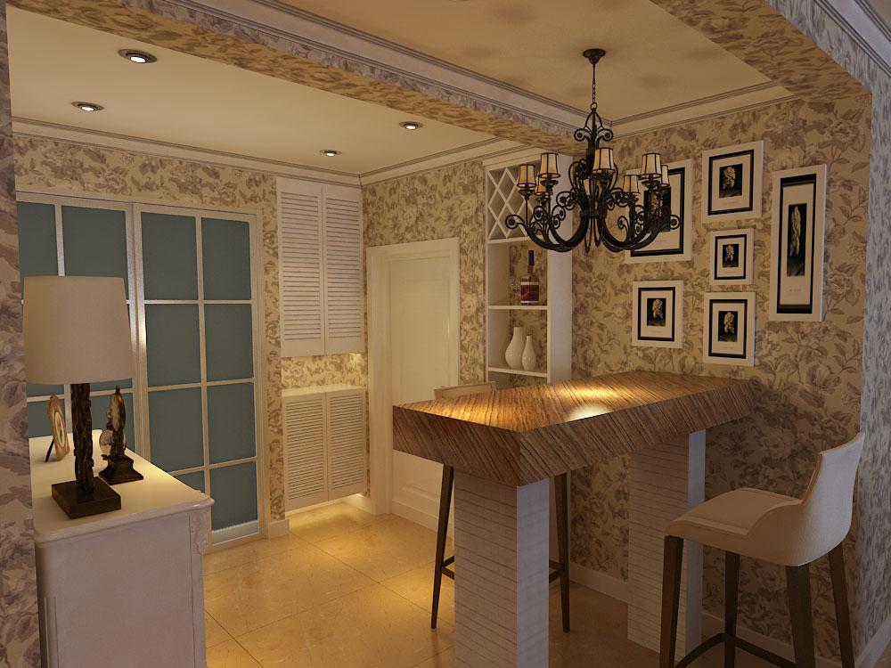 美式风格 林凤装饰 白领 80后 小资 餐厅图片来自沈阳林凤装饰装修公司在金地艺境-美式-三居的分享