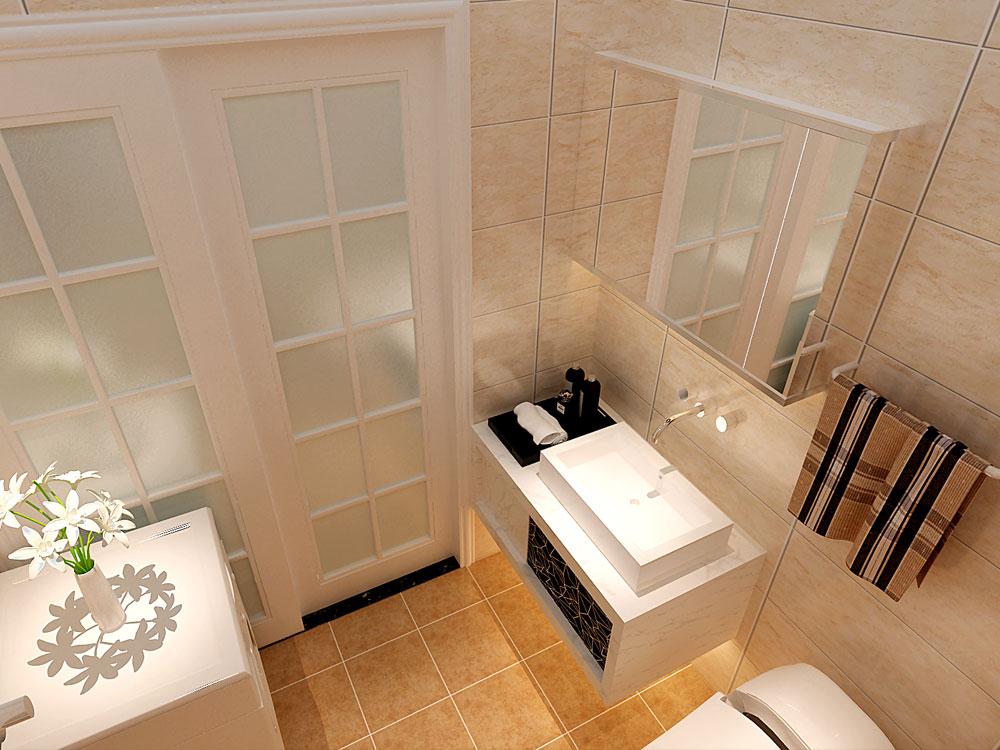 美式风格 林凤装饰 白领 80后 小资 卫生间图片来自沈阳林凤装饰装修公司在金地艺境-美式-三居的分享