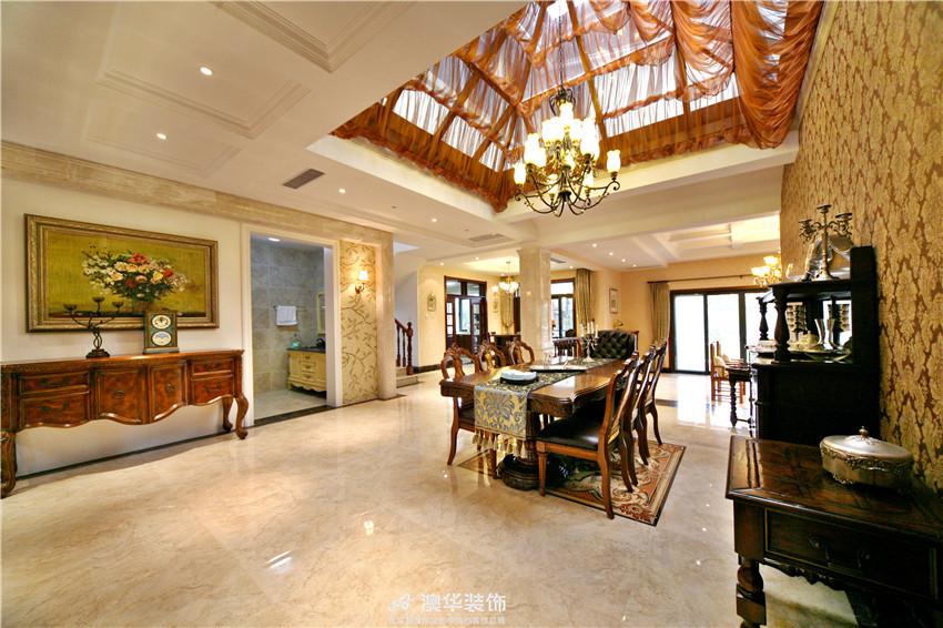 欧式 别墅 混搭 美式 客厅图片来自澳华装饰有限公司在保利十二橡树·美式庄园的分享