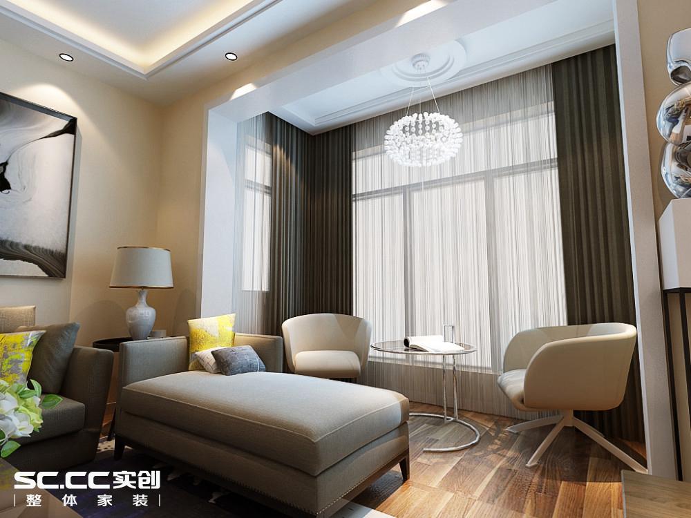 二居 简约 客厅图片来自哈尔滨实创装饰阿娇在江北万达旅游城88平现代简约两居的分享