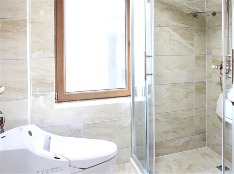 卫生间图片来自湖南名匠装饰在澳海澜庭2室2厅1卫85.10平的分享