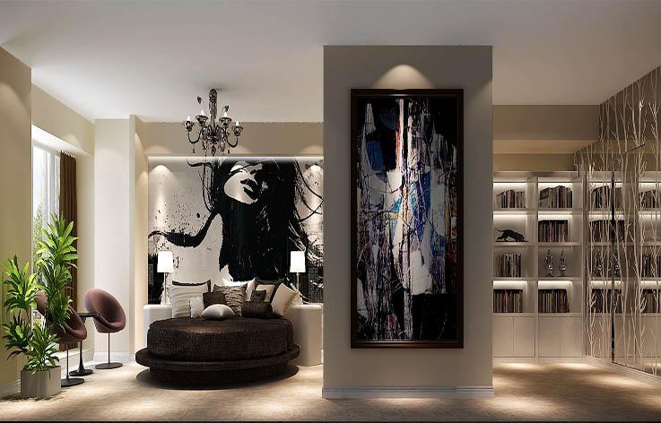 混搭 白领 80后 装修 设计 卧室图片来自张邯在高度国际-橡树公馆2的分享