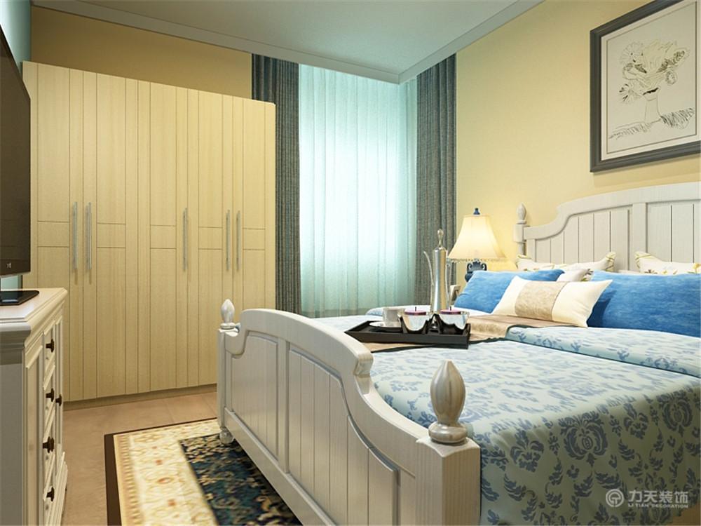 卧室图片来自阳光力天装饰在地中海 汉滨城市花园  92㎡的分享