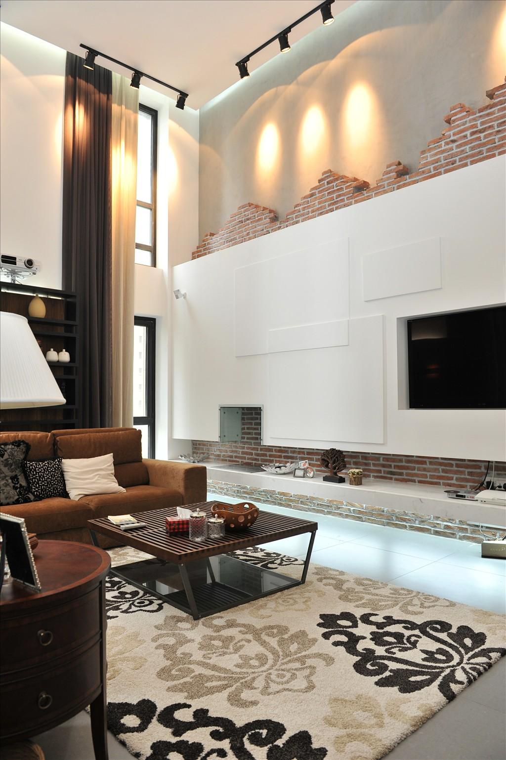 蓝堡湾 跃式装修 装修公司 大业美家 装饰公司 客厅图片来自158xxxx9432在蓝堡湾270平方舒适大宅装修案例的分享