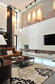 蓝堡湾270平方舒适大宅装修案例