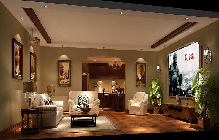 欧式 别墅 装修 设计 卧室图片来自张邯在高度国际-中海尚湖世家2的分享