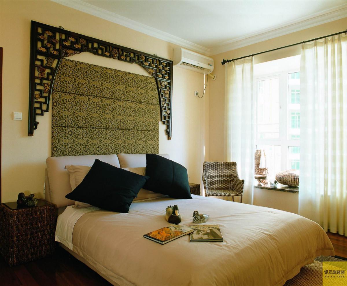卧室图片来自北京居然元洲装饰小尼在润泽公馆田园风格回归大自然的分享