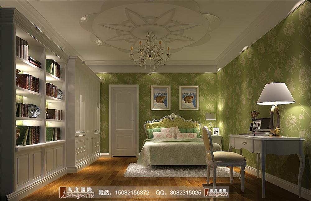 欧式风格 高度国际 成都装修 别墅装修 卧室图片来自成都高端别墅装修瑞瑞在简欧风情----成都高度国际装饰的分享