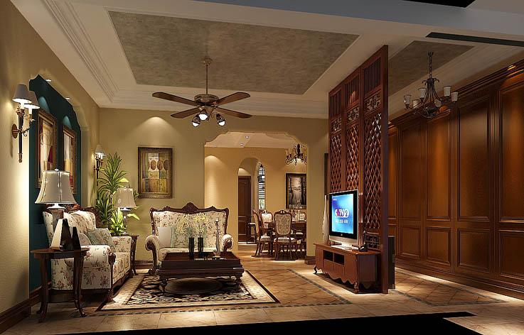 欧式 别墅 装修 设计 客厅图片来自张邯在高度国际-中海尚湖世家2的分享