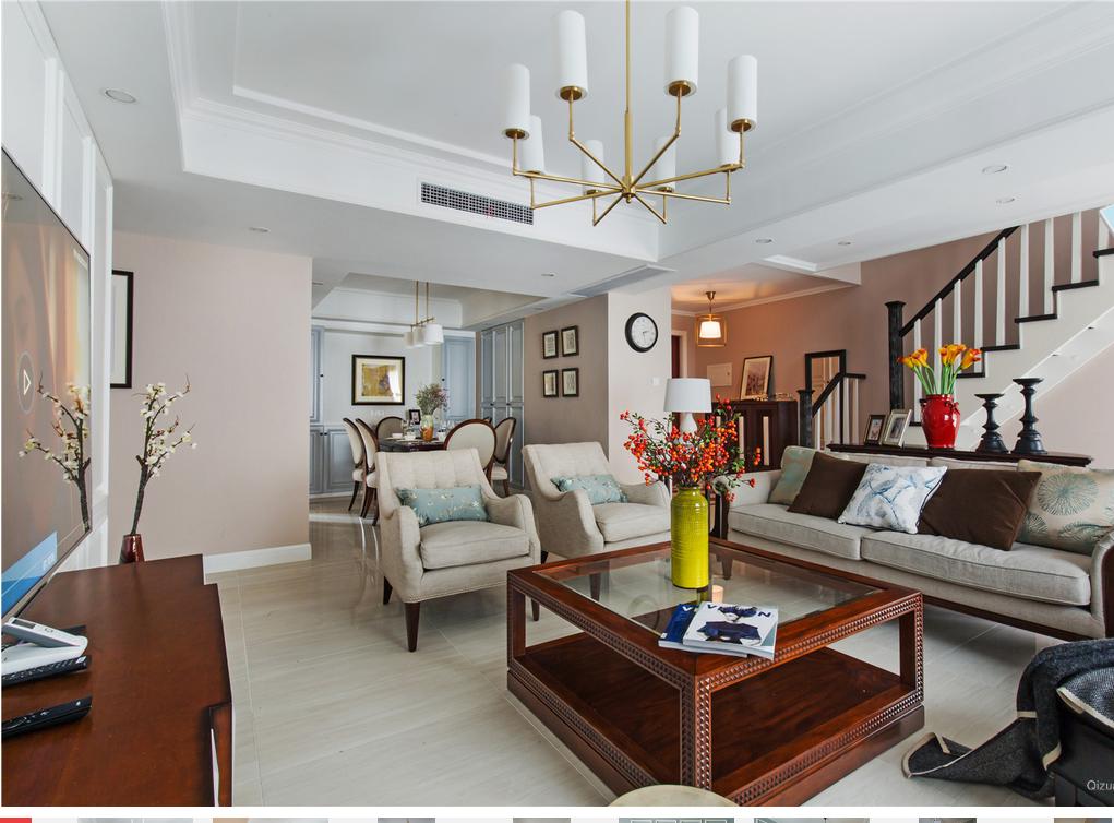 简约 客厅图片来自西安紫苹果装饰总部在白鹿溪谷的分享