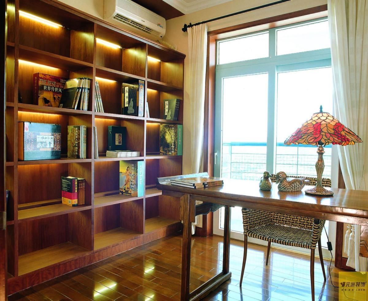 书房图片来自北京居然元洲装饰小尼在润泽公馆田园风格回归大自然的分享