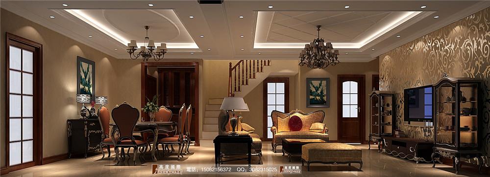欧式风格 高度国际 成都装修 别墅装修 厨房图片来自成都高端别墅装修瑞瑞在简欧风情----成都高度国际装饰的分享