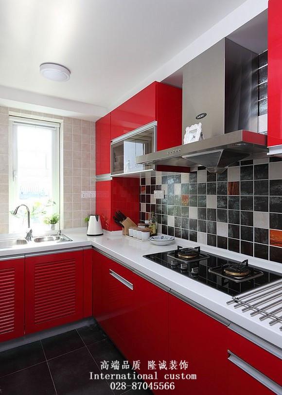 简约 三居 白领 收纳 旧房改造 80后 舒适 温馨 厨房图片来自fy1831303388在翰香府的分享