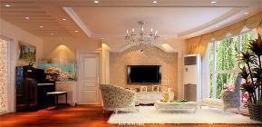 田园 简约 混搭 三居 白领 80后 舒适 温馨 客厅图片来自fy1831303388在紫晶城的分享