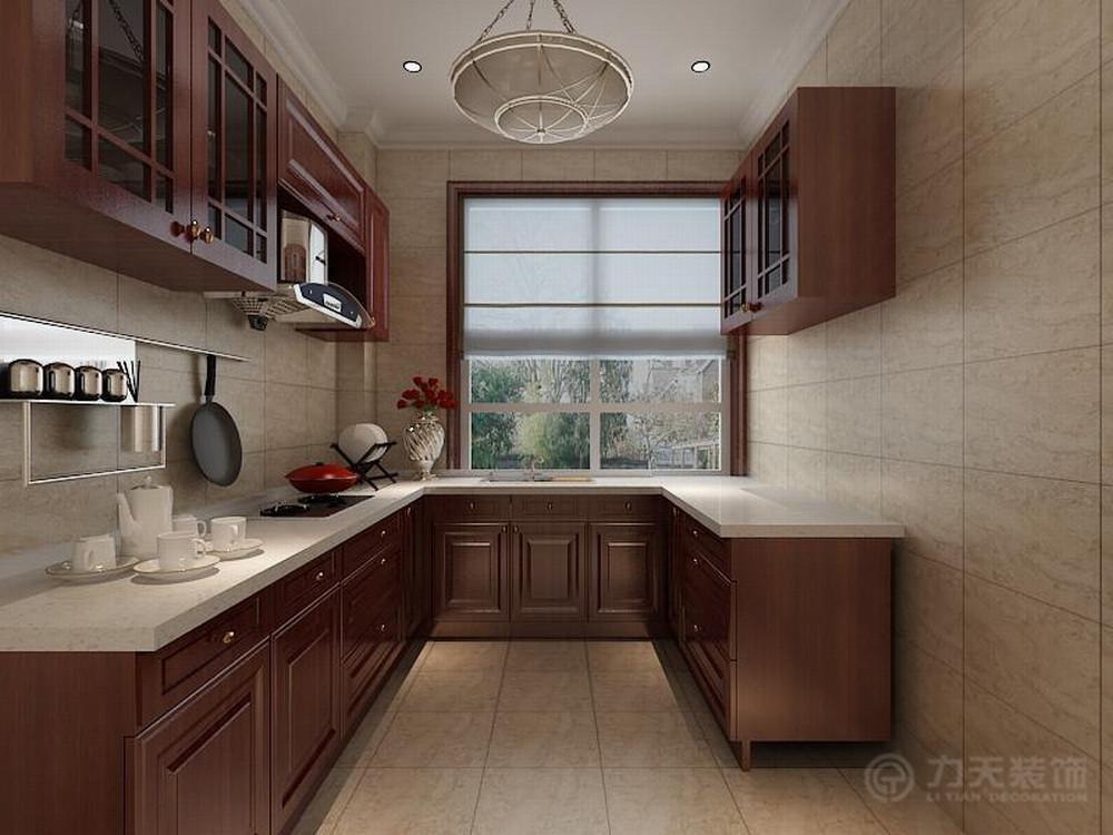 厨房图片来自阳光力天装饰在中式   经纬城市绿洲  53㎡的分享