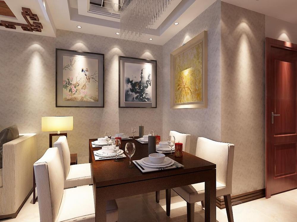 餐厅图片来自阳光力天装饰在中式   经纬城市绿洲  53㎡的分享