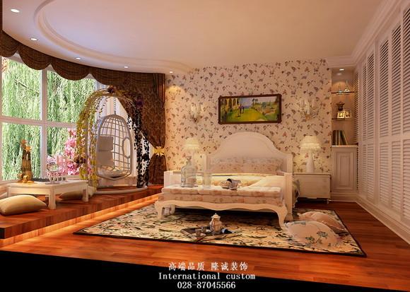 田园 简约 混搭 三居 白领 80后 舒适 温馨 卧室图片来自fy1831303388在紫晶城的分享