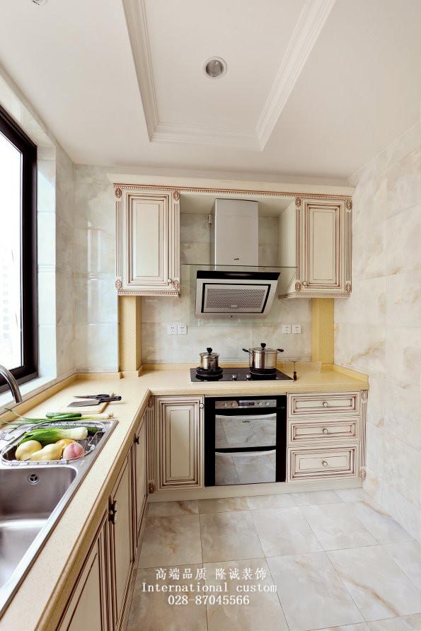 欧式 三居 白领 收纳 旧房改造 80后 小资 舒适 温馨 厨房图片来自fy1831303388在中德英伦的分享