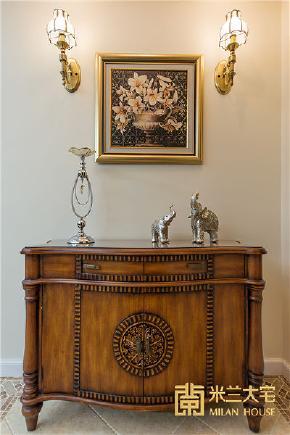 美式 新古典 复式楼 小资 玄关图片来自米兰大宅设计会所在美式新古典的分享