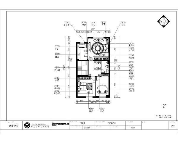 本案为博雅苑楼标准层户型三层小别墅223㎡的户型。从片面效果图来看,以顺时针方向走,从入户门进来右手边是厨房,沿着入户门方向继续往前走右手边就是餐区,餐区过后往里走就是客厅,宽敞明亮,采光极好。
