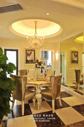 欧式 三居 白领 收纳 旧房改造 80后 小资 舒适 温馨 餐厅图片来自fy1831303388在中德英伦的分享