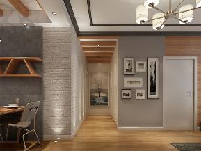 航天科工 二居 新古典 小资 玄关图片来自业之峰装饰旗舰店在简构主义的分享