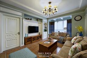 三居 白领 收纳 旧房改造 80后 小资 舒适 温馨 美式 客厅图片来自fy1831303388在爱汀府的分享