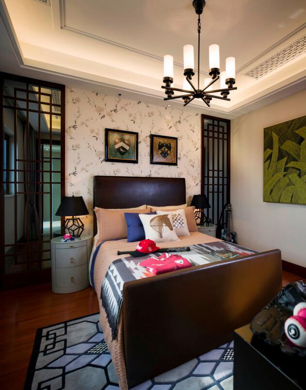 简约 欧式 田园 混搭 三居 别墅 收纳 旧房改造 二居 卧室图片来自紫禁尚品国际装饰高晓媛在简单大气的新中式风格的分享