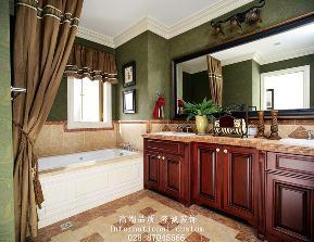 三居 白领 收纳 旧房改造 80后 小资 美式 舒适 温馨 卫生间图片来自fy1831303388在8号公馆美式的分享